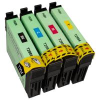 Recycelt Epson 29XL Druckerpatronen T2991 T2992 T2993 T2994 T2996 XL Multipack 4er Set