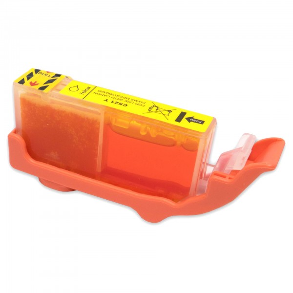 Kompatibel zu Canon CLI-521 Gelb Tintenpatrone