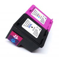 Kompatibel zu HP 302 XL Schwarz und 3-Color Druckerpatrone mit neuem Chip 2er Set