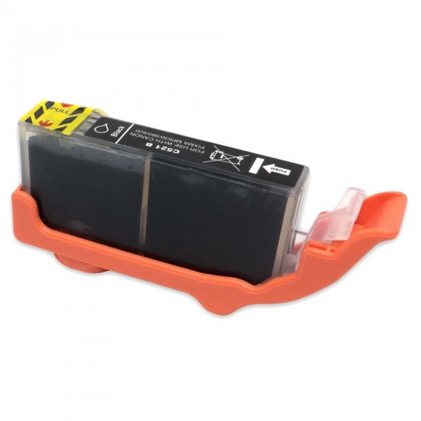 Kompatibel zu Canon CLI-521 BK Schwarz Tintenpatrone